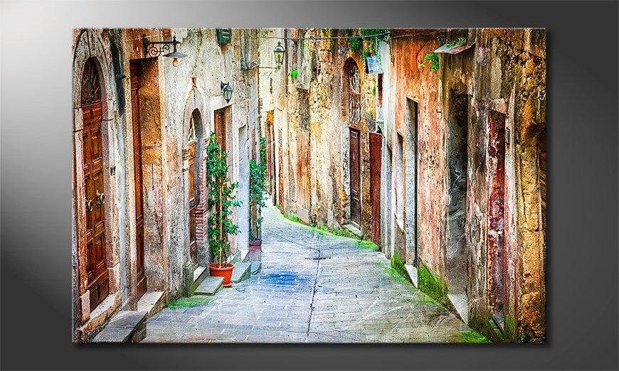 Fine-Art print Charming Alley