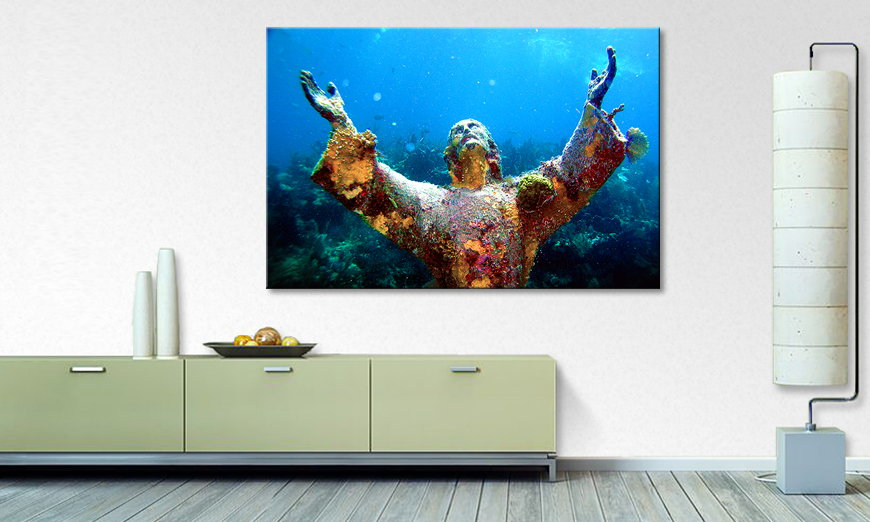 Fine Art print Christ of the Abyss