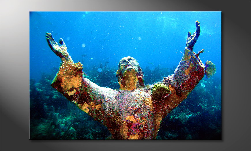 Fine-Art print Christ of the Abyss