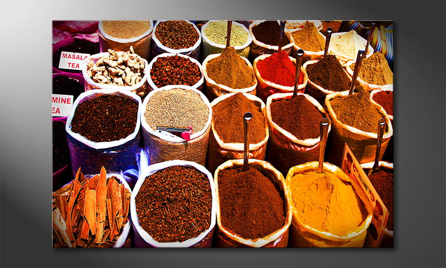 Fine-Art print Colorful Spices