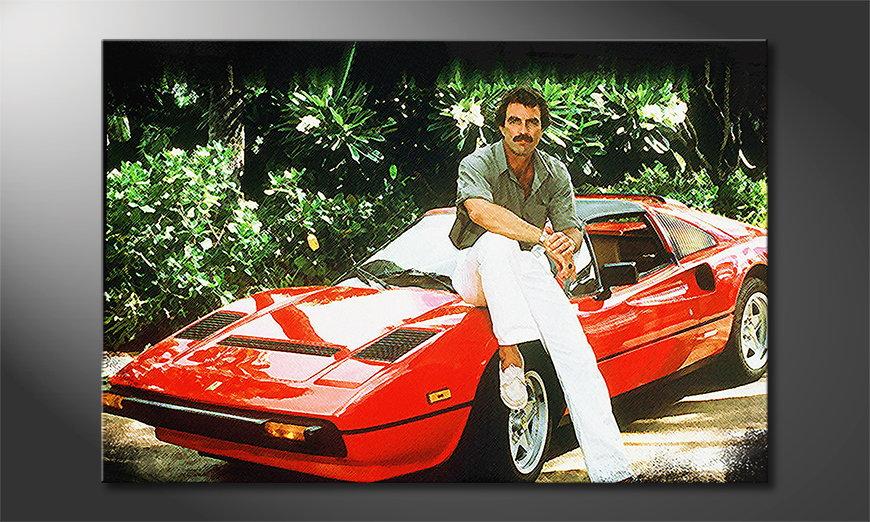 Fine-Art print Ferrari Magnum