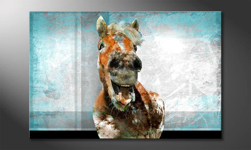 Fine-Art print Happy Horse