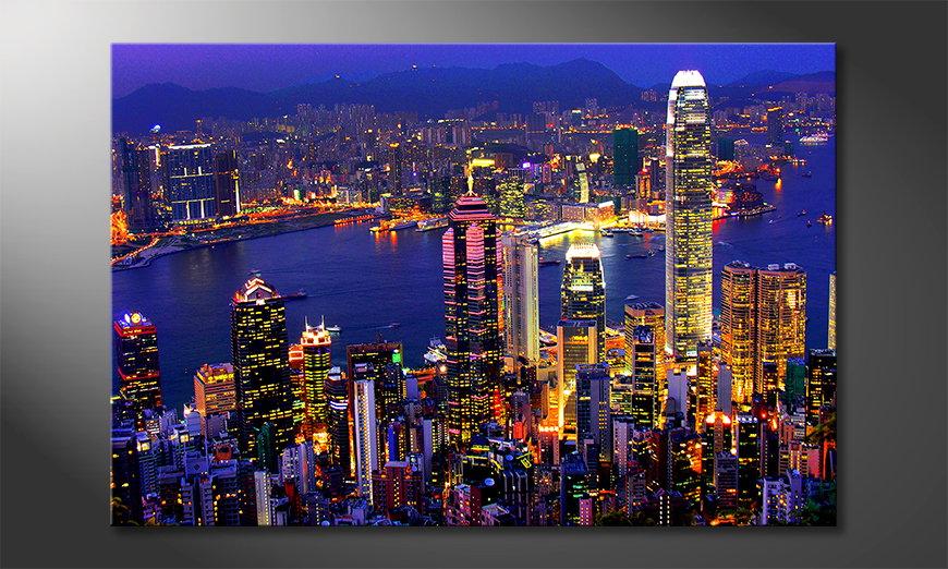Fine-Art print Hongkong View