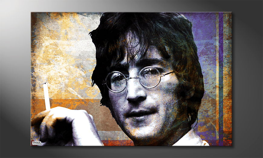 Fine-Art print John Lennon 120x80 cm