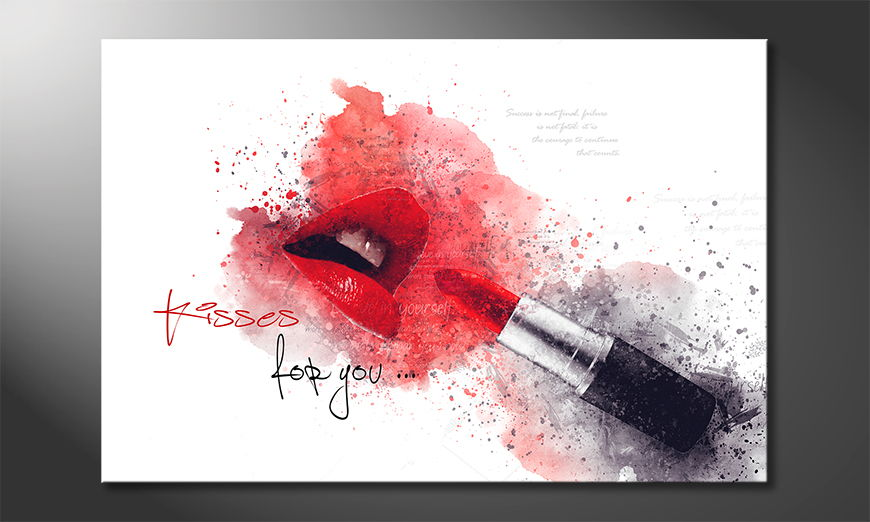 Fine-Art print Kisses For You