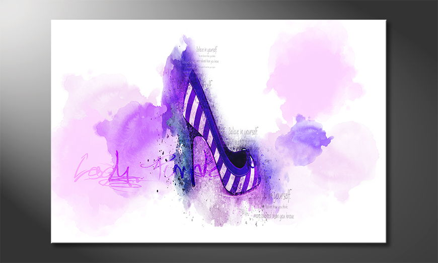 Fine-Art print Lady Purple