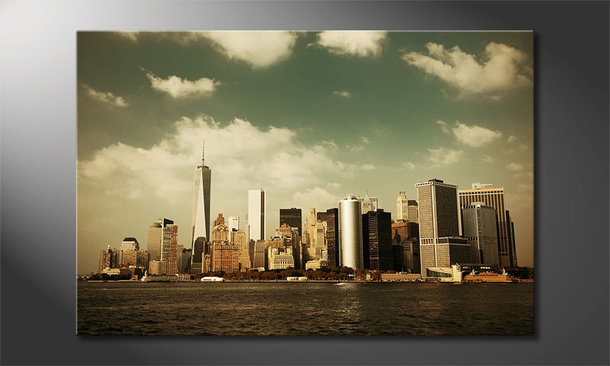 Fine-Art-print-Manhatten-Skycrapers
