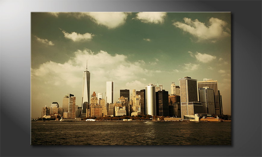 Fine-Art print Manhatten Skycrapers