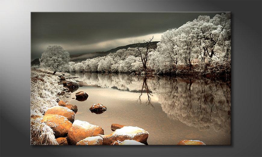 Fine-Art print Mystic River