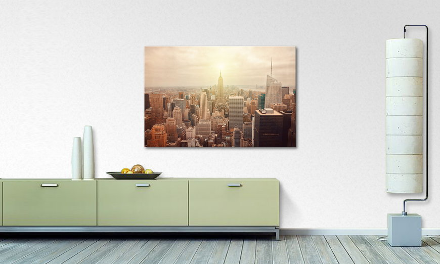 Fine Art print New York Retro