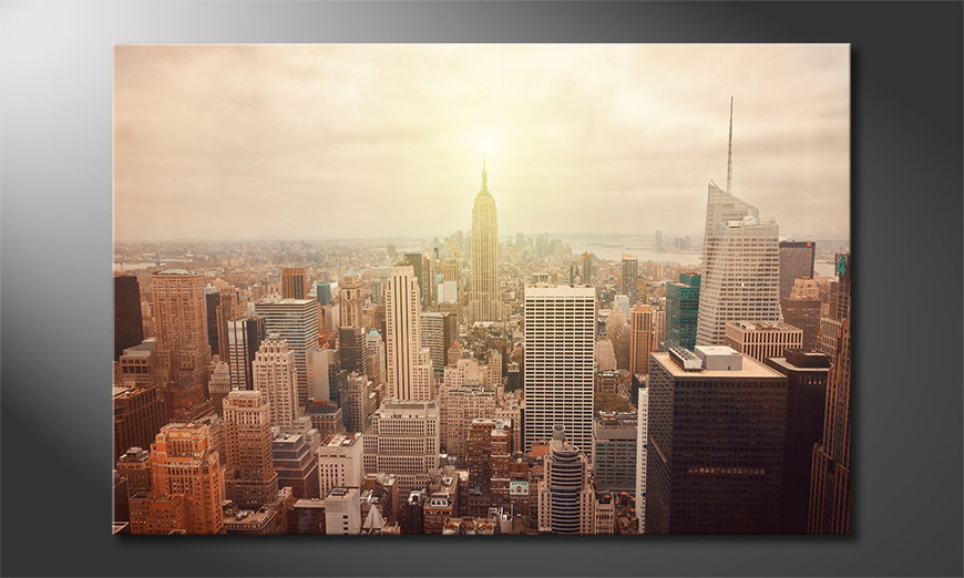 Fine-Art print New York Retro