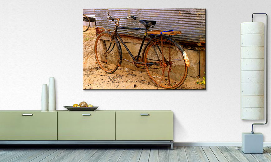 Fine Art print Old Bicycle