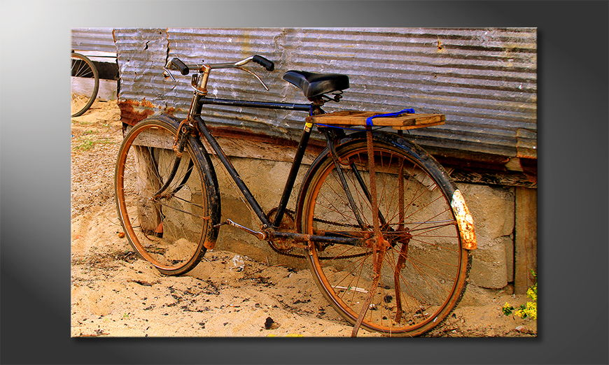 Fine-Art print Old Bicycle