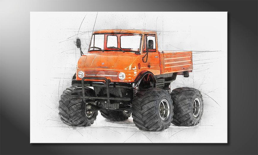 Fine-Art print Orange Mog