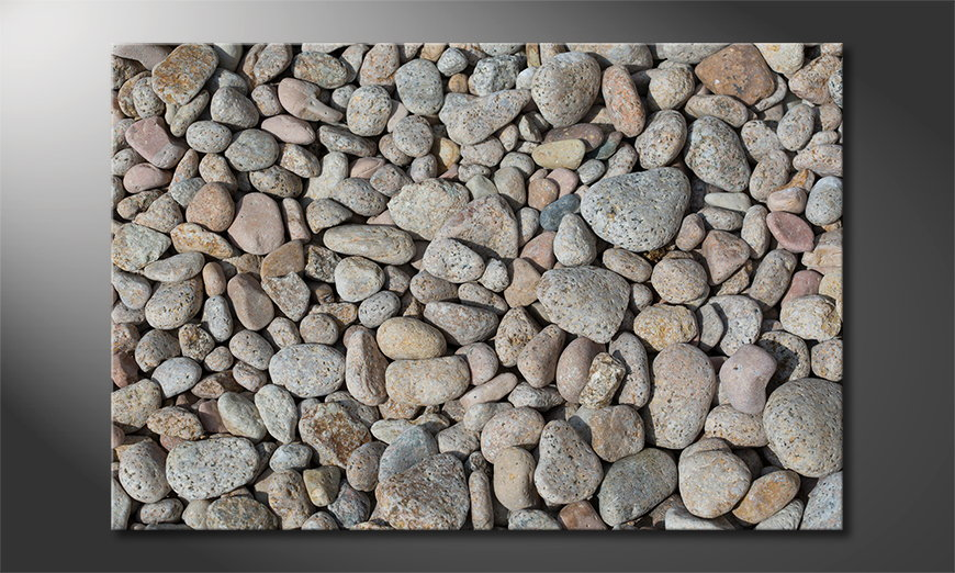 Fine-Art print Pebble Stones