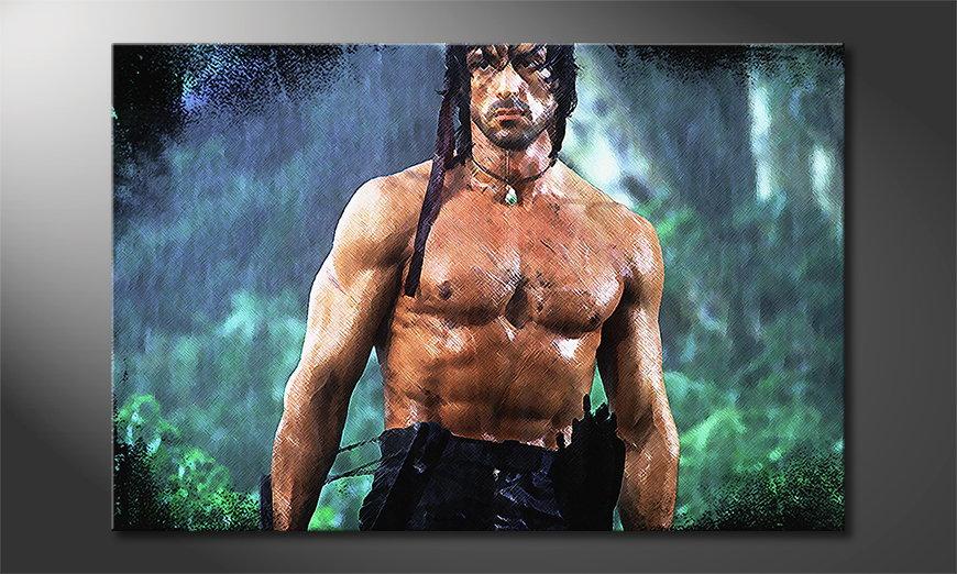 Fine-Art print Rambo Moment