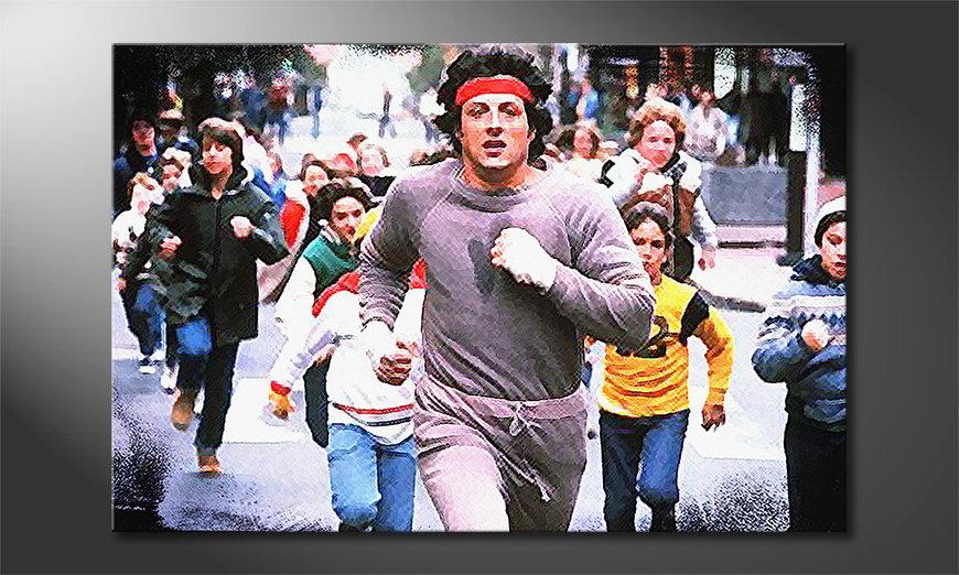 Fine-Art print Run Rocky Run