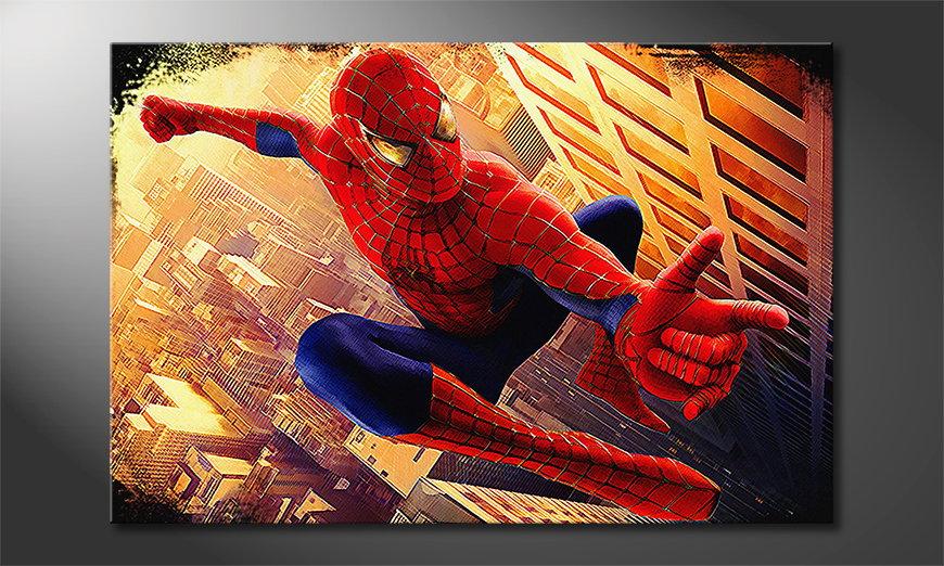 Fine-Art print Spiderman Moment