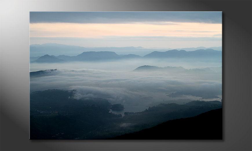 Fine-Art print Sri Lanka Morning 90x60 cm