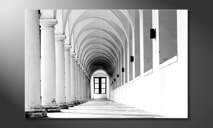 Het aardige schilderij Columns Gallery