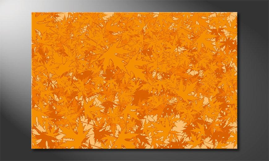 Het abstracte print Ahorn