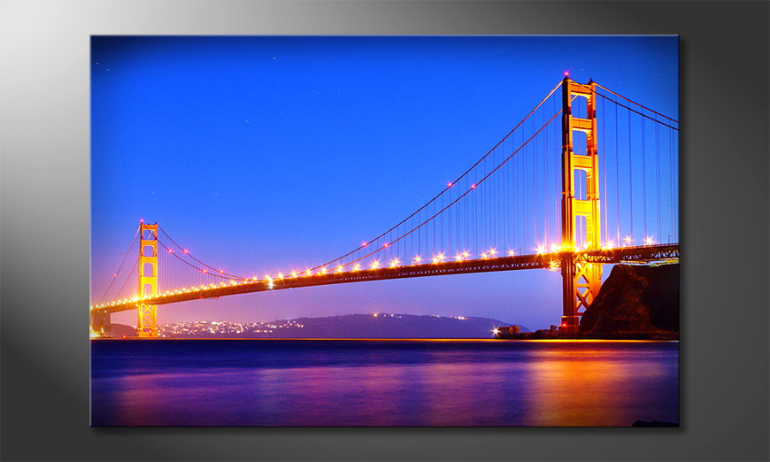Het beeld Golden Gate