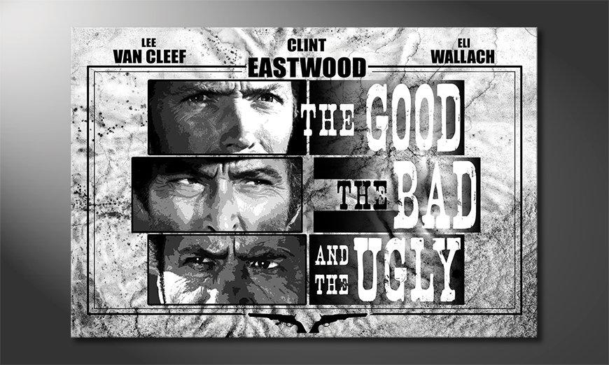 Het beeld Good, The Bad & The Ugly