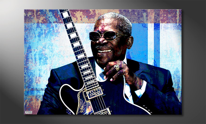 Het canvas BB King