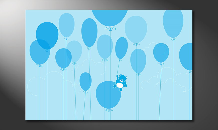 Het cool canvas Balloons