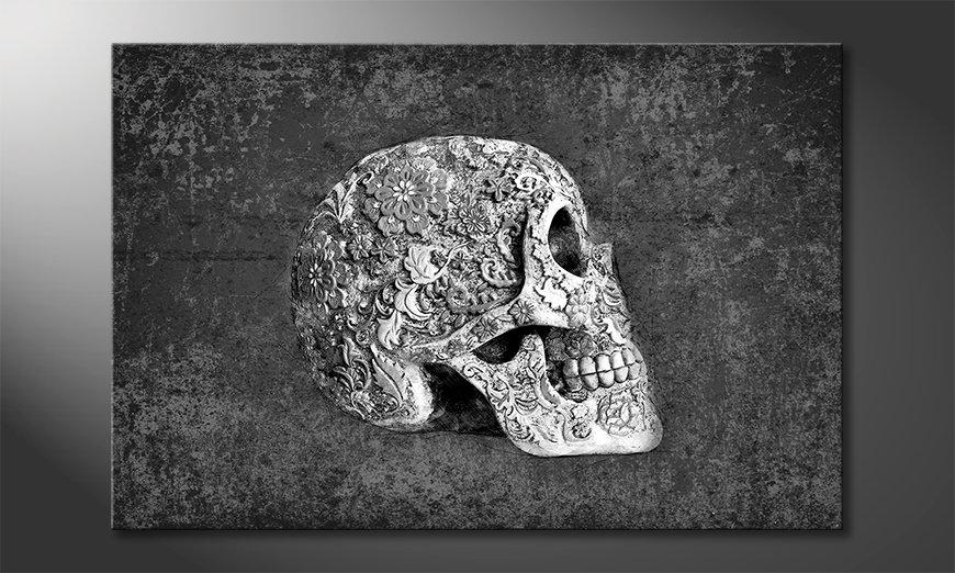 Het exclusieve schilderij Suger Skull