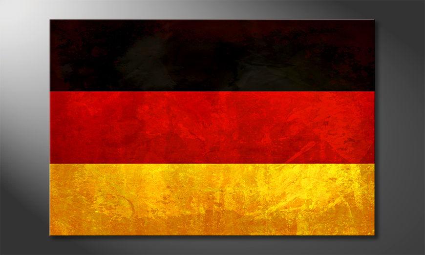 Het foto canvas Alemania