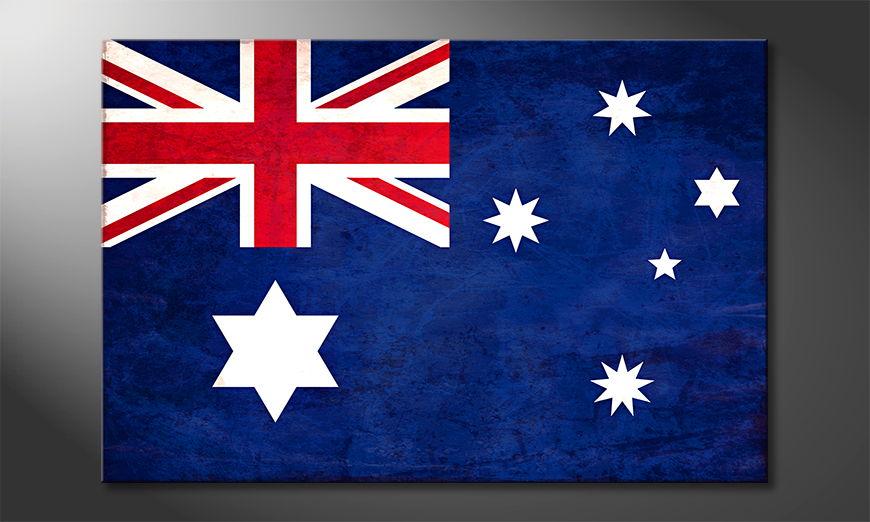 Het foto canvas Australië