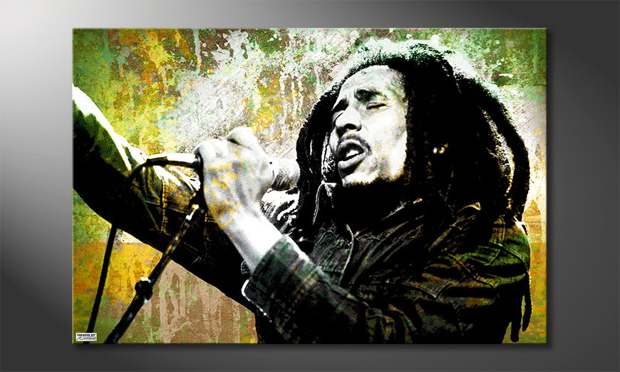 Het foto canvas Bob