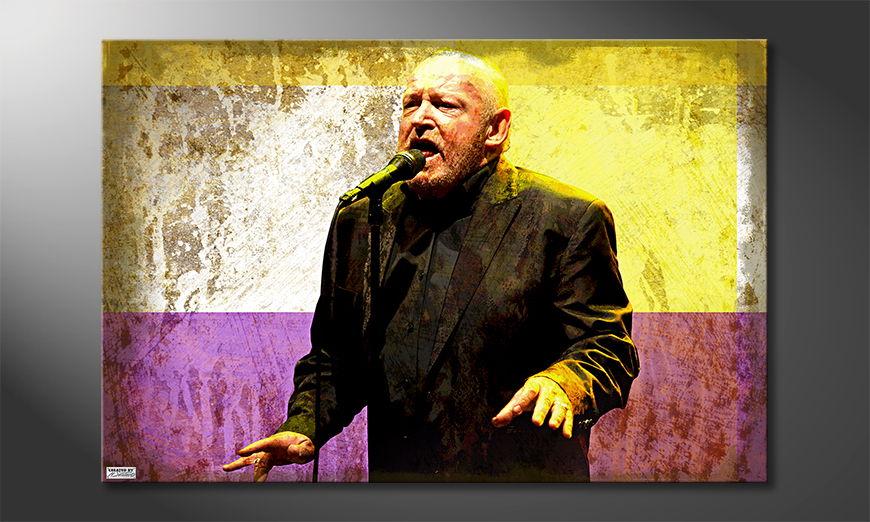 Het foto canvas Cocker