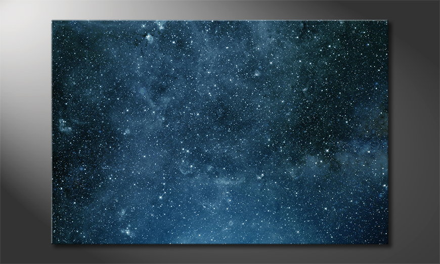 Het foto canvas Endless Space