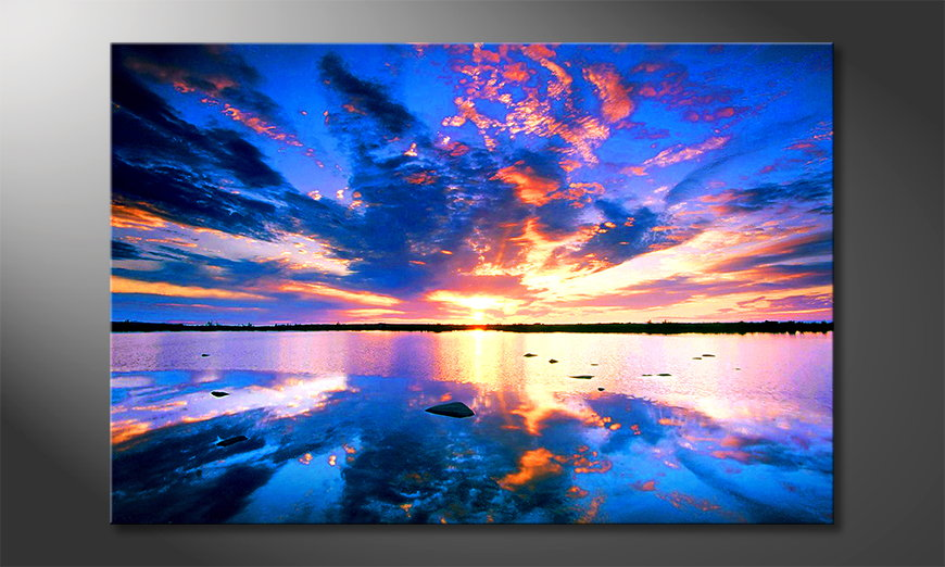 Het foto canvas Heaven on Earth