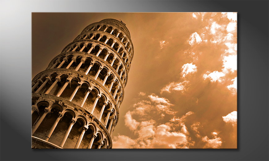 Het-foto-canvas-Leaning-Tower