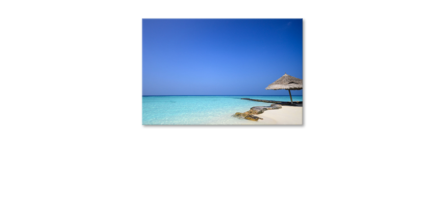 Het-foto-canvas-Maledives-Beach