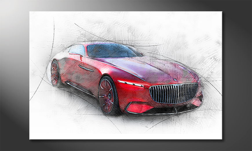 Het-foto-canvas-Maybach-Study