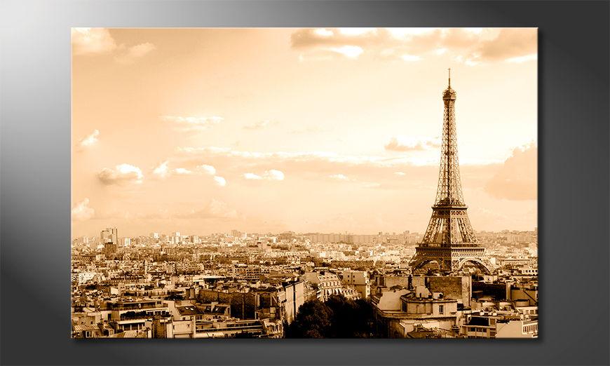 Het foto canvas Paris II