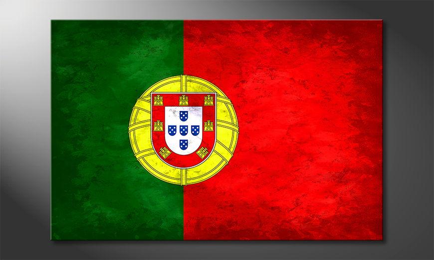Het foto canvas Portugal