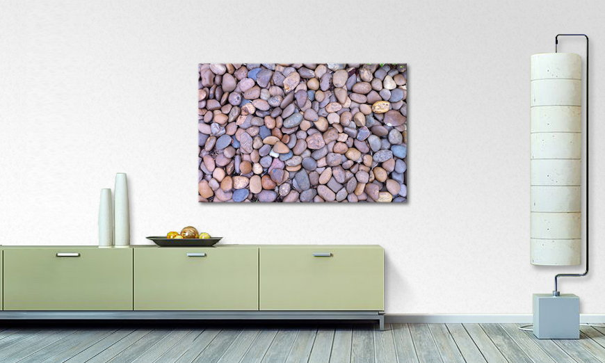 Het foto canvas Rock Texture