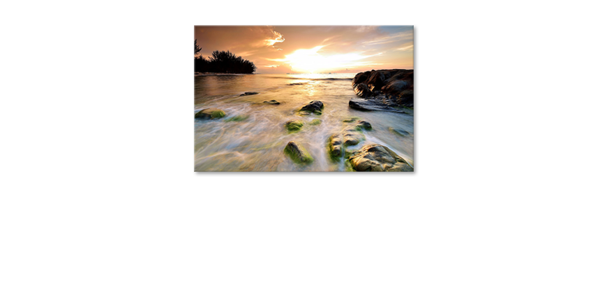 Het-foto-canvas-Stoned-Sunset