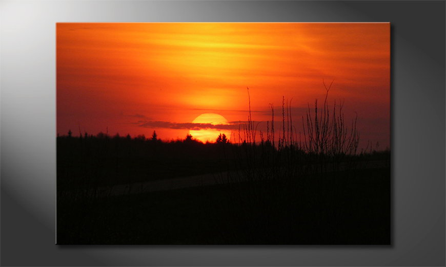 Het-foto-canvas-Sunset-Sky
