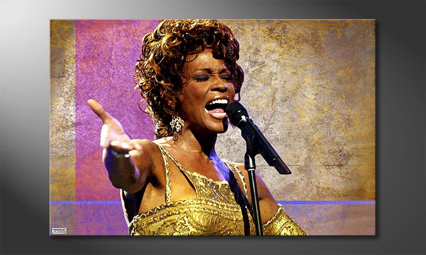 Het foto canvas Whitney