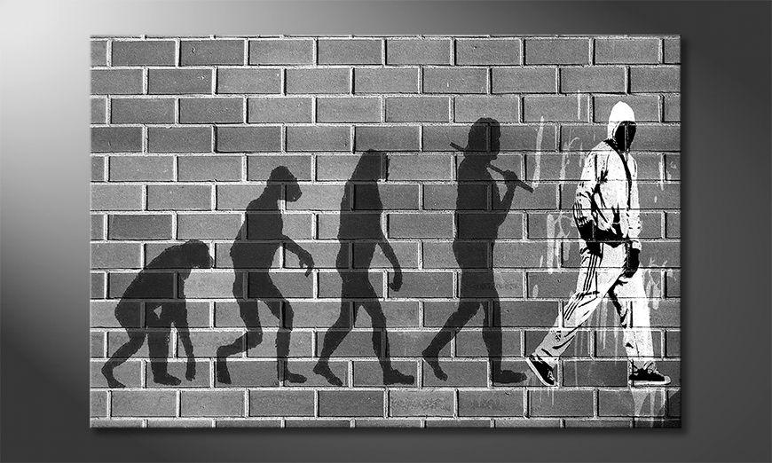 Het gedrukte beeld Evolution