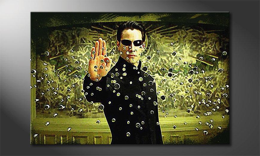 Het gedrukte beeld Matrix Moment