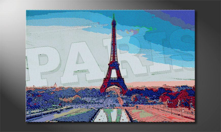 Het gedrukte beeld Paris