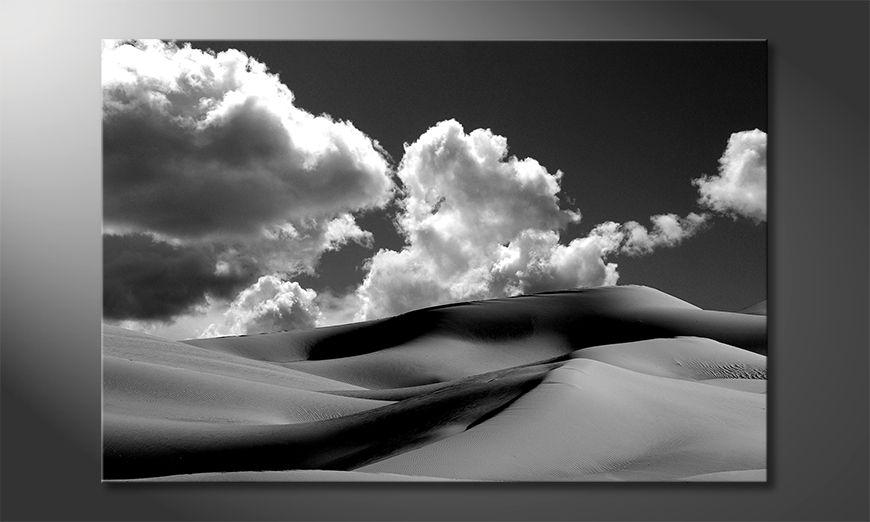 Het gedrukte beeld Sand Dunes