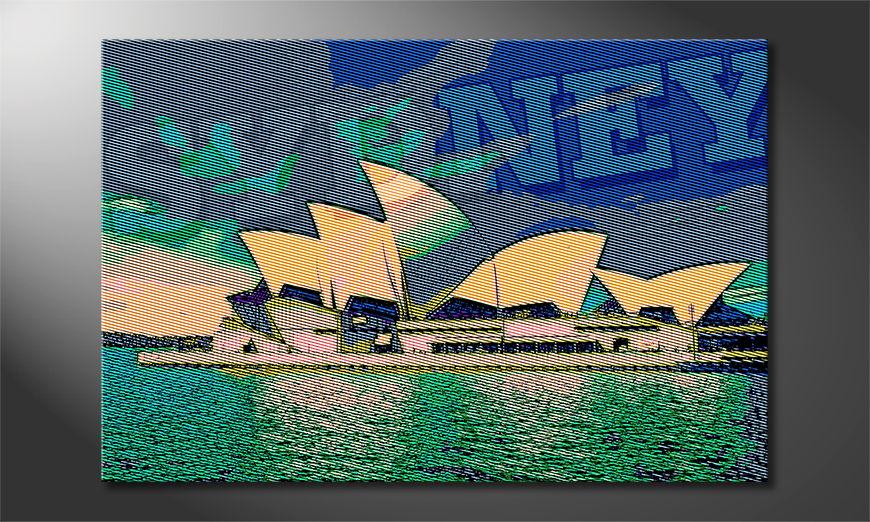 Het gedrukte beeld Sydney